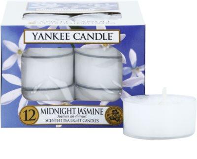 Yankee Candle Midnight Jasmine vela do chá
