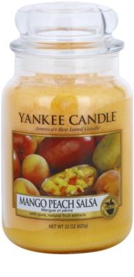 Yankee Candle Mango Peach Salsa vela perfumada   Classic grande