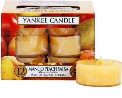 Yankee Candle Mango Peach Salsa świeczka typu tealight