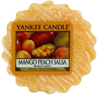 Yankee Candle Mango Peach Salsa Wachs für Aromalampen