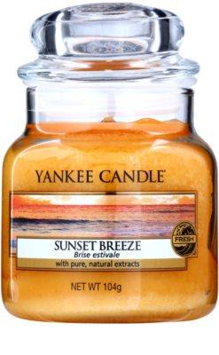 Yankee Candle Sunset Breeze ароматизована свічка   Classic велика