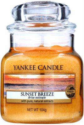 Yankee Candle Sunset Breeze illatos gyertya   Classic nagy méret