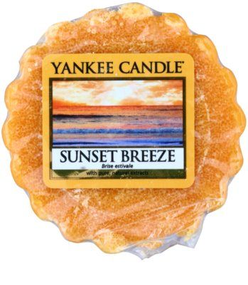 Yankee Candle Sunset Breeze cera para lámparas aromáticas