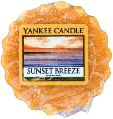 Yankee Candle Sunset Breeze illatos viasz aromalámpába