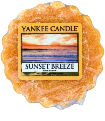 Yankee Candle Sunset Breeze Wachs für Aromalampen