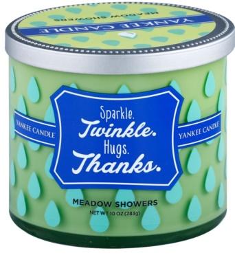 Yankee Candle Meadow Showers ароматна свещ    (Sparkle. Twinkle. Hugs. Thanks.)