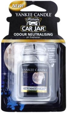Yankee Candle Midsummers Night odświeżacz do samochodu   wiszące