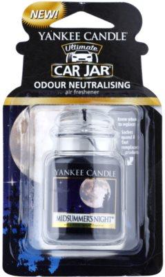 Yankee Candle Midsummers Night vůně do auta   závěsná