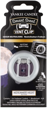 Yankee Candle Midsummers Night Autoduft  Clip