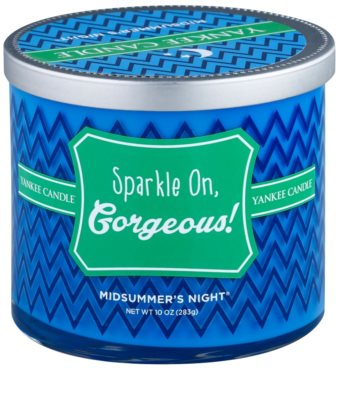 Yankee Candle Midsummers Night vela perfumada    (Sparkle on, Gorgeous!)