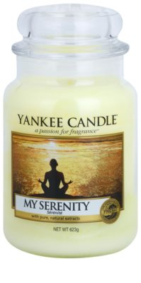 Yankee Candle My Serenity świeczka zapachowa   Classic duża