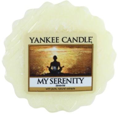 Yankee Candle My Serenity vosek za aroma lučko