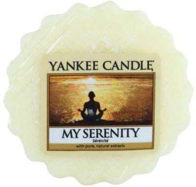 Yankee Candle My Serenity Wachs für Aromalampen