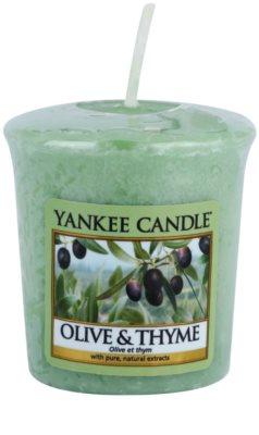 Yankee Candle Olive & Thyme lumânare votiv