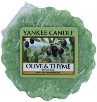 Yankee Candle Olive & Thyme vosek za aroma lučko