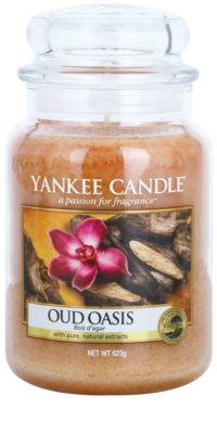 Yankee Candle Oud Oasis Duftkerze   Classic groß