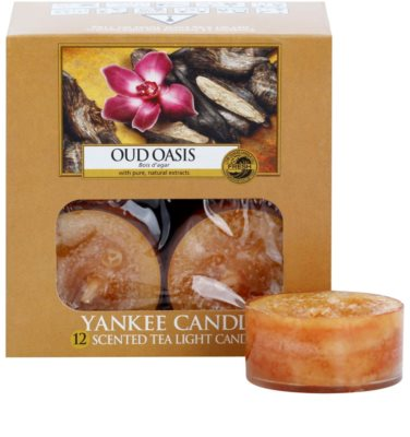 Yankee Candle Oud Oasis čajová svíčka