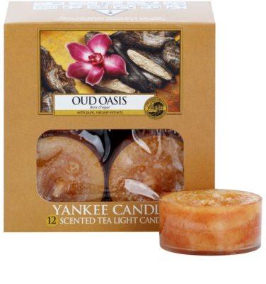 Yankee Candle Oud Oasis vela do chá