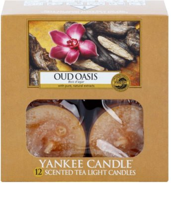 Yankee Candle Oud Oasis teamécses 1
