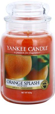 Yankee Candle Orange Splash vela perfumado  Classic grande