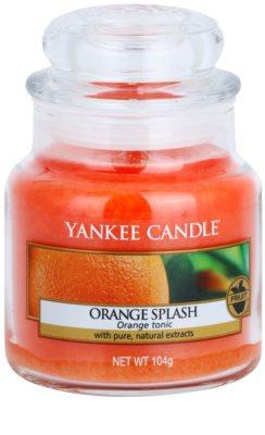 Yankee Candle Orange Splash ароматизована свічка   Classic  середня