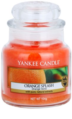 Yankee Candle Orange Splash vela perfumada   Classic grande