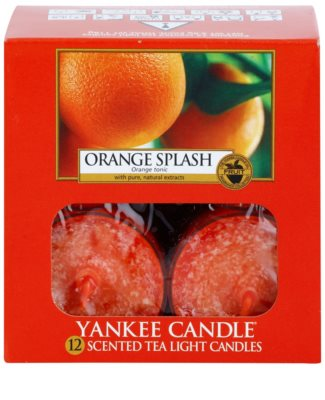 Yankee Candle Orange Splash teamécses 2