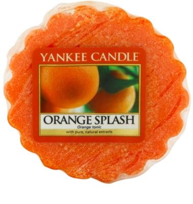 Yankee Candle Orange Splash wosk zapachowy