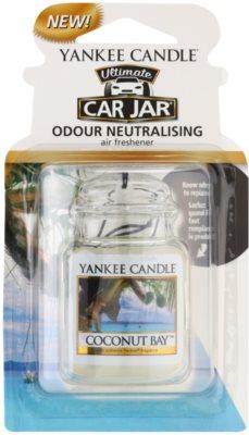 Yankee Candle Coconut Bay ambientador para coche   de suspensión