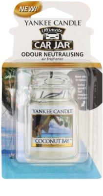 Yankee Candle Coconut Bay illat autóba   felakasztható autóillatosító