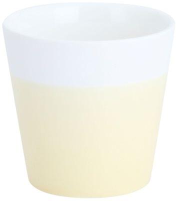 Yankee Candle Pastel Hues Kerámia gyertyatartó fogadalmi gyertyához    (Grey)