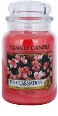 Yankee Candle Pink Carnation Scented Candle  Classic Large