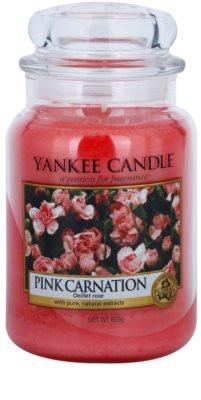 Yankee Candle Pink Carnation vonná svíčka  Classic velká