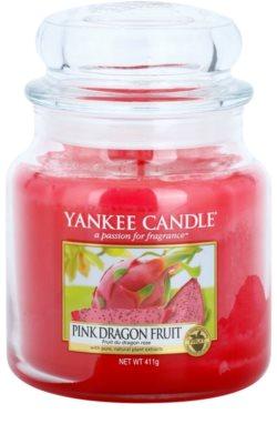 Yankee Candle Pink Dragon Fruit ароматна свещ   Classic средна
