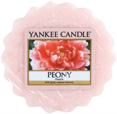 Yankee Candle Peony cera para lámparas aromáticas
