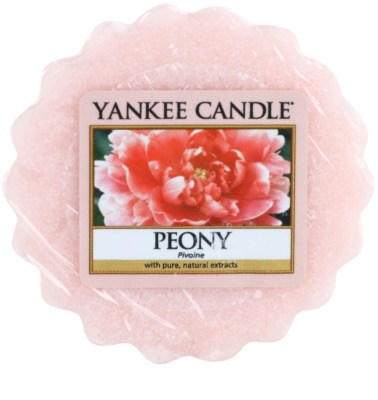 Yankee Candle Peony Wachs für Aromalampen