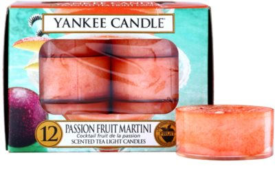Yankee Candle Passion Fruit Martini vela de té