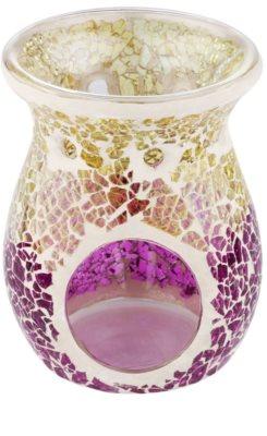 Yankee Candle Purple & Gold Crackle skleněná aromalampa