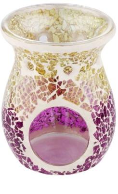 Yankee Candle Purple & Gold Crackle Üveg aromalámpa