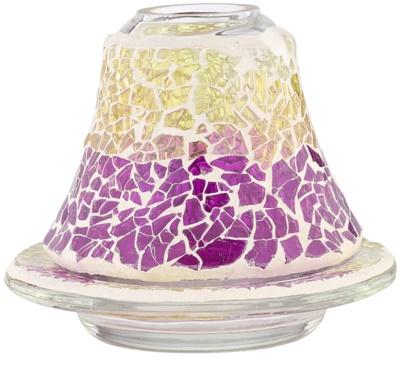 Yankee Candle Purple & Gold Crackle set lampa     set pentru lumanari mici clasice
