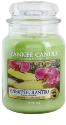 Yankee Candle Pineapple Cilantro vela perfumado  Classic grande