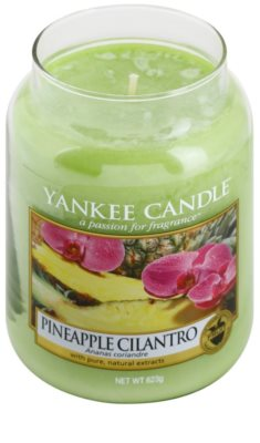 Yankee Candle Pineapple Cilantro vela perfumado  Classic grande 1