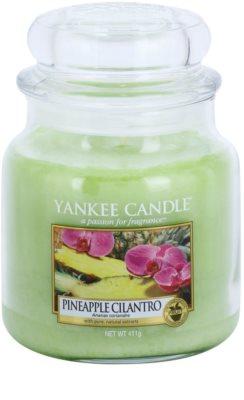 Yankee Candle Pineapple Cilantro illatos gyertya   Classic közepes méret