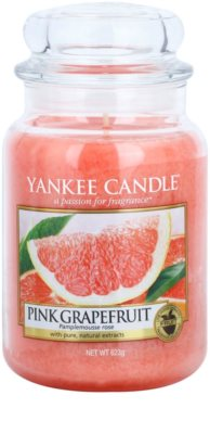 Yankee Candle Pink Grapefruit Duftkerze   Classic groß