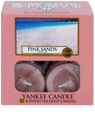 Yankee Candle Pink Sands teamécses 2