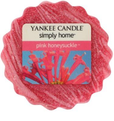 Yankee Candle Pink Honeysuckle ceară pentru aromatizator