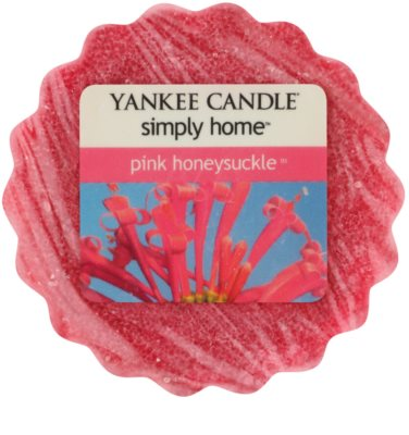 Yankee Candle Pink Honeysuckle cera derretida aromatizante