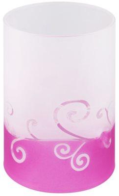 Yankee Candle Purple Scroll Stekleni svečnik za čajno svečo
