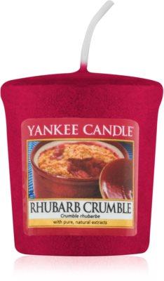 Yankee Candle Rhubarb Crumble lumânare votiv