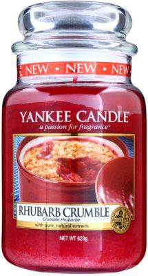 Yankee Candle Rhubarb Crumble dišeča sveča   Classic velika